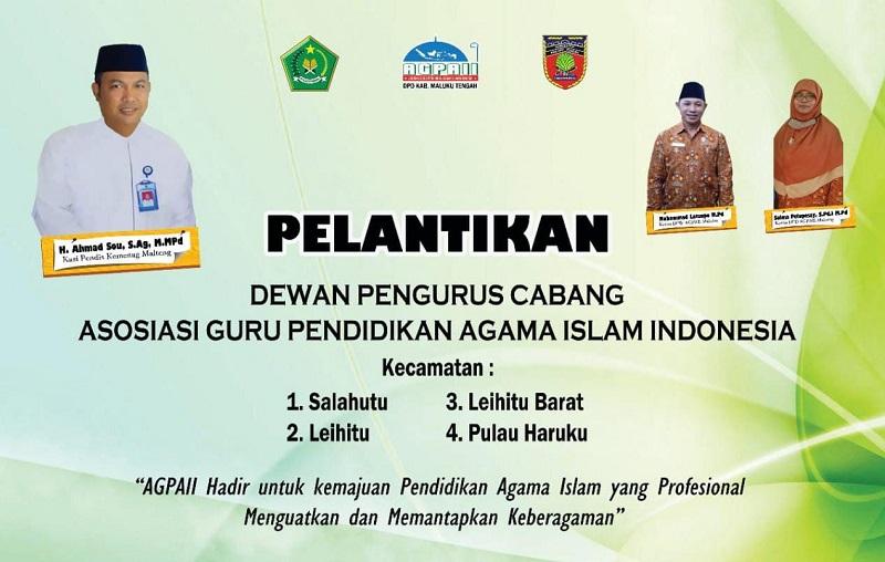 Pelantikan DPC Maluku Tengah - Asosiasi Guru Pendidikan ...